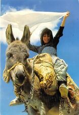 BF39580 turkey girl riding   donkey ane  animal animaux
