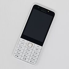 Nokia Asha 230 (D.S) - Basic Mobile Phone White - Working Condition - Unlocked