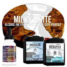 Epoxidharz EpoxyPlast 3D B50 MILKY WHITE Transparent Farbig Gießharz Epoxy Resin