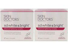 SKIN DOCTORS SD White & Bright 50mlx2-STOCK TAKE SALE &FREE Domestic Post 60%OFF