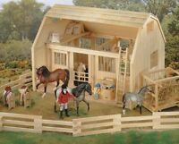 Breyer Horse Accessory Traditional WOOD CORRAL Model 7500