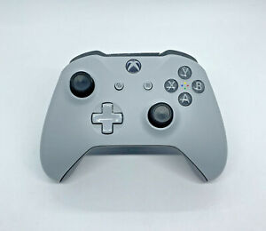 Genuine Microsoft Xbox One Controller - GREY & GREEN - Brand New Thumbsticks