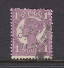 Qld: 1897-1911 4Th Sideface Qv 1/Bright Mauve Sg253 Used