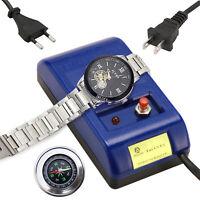 Watch Repair Tool - Screwdriver Tweezers Electrical Demagnetizer + Compass