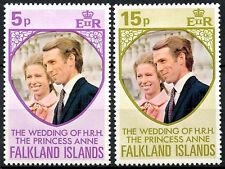 Falkland Islands 1973 Royal Wedding MNH Set #R625
