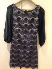 Review Navy Blue Dress Size 6