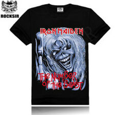 IRON MAIDEN MENS T SHIRT NEW  SIZE MEDIUM /  LARGE ROCKSIR