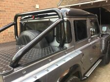 Land Rover Defender 90 110 Crew Cab Pick Up rear window guards