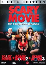 SCARY MOVIE - THE COMPLETE COLLECTION - 3X DVD