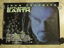 Battlefield Earth movie poster - John Travolta - original uk quad movie poster