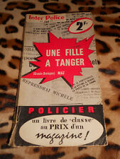 MAZ: Une fille à Tanger - Presses Internationales, Inter-Police n° 97