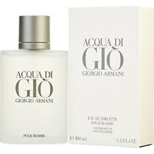 Acqua Di Gio Giorgio Armani For Men 3.4 oz / 100ml Eau de Toilette New & Sealed!