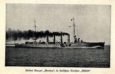 Seekrieg 1914 * KL. incrociatore Wroclaw in servizi turche Midilli * ww1