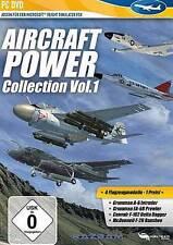 Aircraft POWER collection vol 1 addon per Microsoft Flight Simulator X 2004 NUOVO
