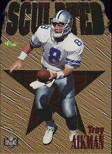 1996 Classic NFL Experience Sculpted #S5 Troy Aikman - NM-MT