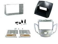 Connects2 CT23FD18 Ford Fiesta Mk7 08 on Double Din Fitting Kit Silver + Grey