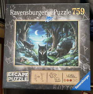 Ravensburger Curse of The Wolves 759 Piece Jigsaw Puzzle Escape Room GREAT