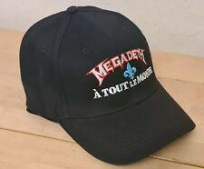 More details for megadeth - a tout le monde - baseball cap 57cm new tour merch embroidered