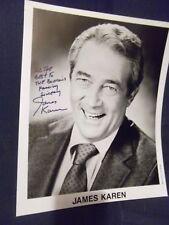 The Return Of The Living Dead Piranha Poltergeist JAMES KAREN hand signed photo