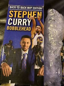 2016 Limited edition Warriors Steph Curry Back to Back MVP Bobblehead