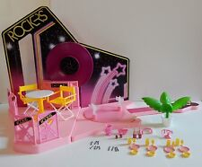 "Mattel 1986 Barbie & the Rockers ""Dance Cafe"" Set"