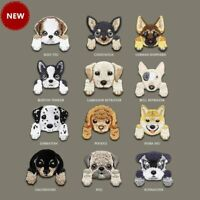 1 Piece Cute Chihuahua Shiba Dog patch on iron cat applique small decoration