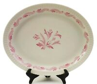 """Vintage Syracuse China Prelude Shelledge Oval Serving Platter 12 1/4"""" x 10 3/4"""""""