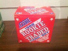 1988 Score Rookie & Traded Baseball Set