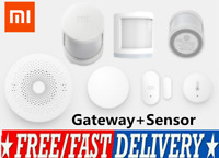 Xiaomi Mi Mijia Smart Home Kit Gateway Wifi Wireless Door/Window Body Sensor UK.