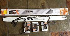 """Stihl 36"""" chainsaw bar 3 Stihl 36"""" chains all new"""