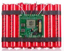 TNT Wecker Bombe Dynamite Defuse a Bomb Alarm Clock Sprengstoff XXL Spass