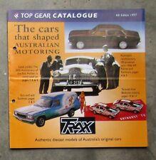 TRAX CATALOGUE 1997 diecast 1/43 model brochure HZ SANDMAN FALCON XR 48-215 SLR
