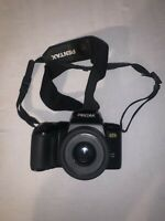 Pentax PZ-70 35mm SLR Film Camera With Carrying Bag Untested