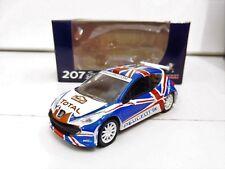 """PEUGEOT 207 Super 2000 Rallye UK 2011 Wilks 1/64 """"3 Inche"""" Norev Diecast Neuf"""