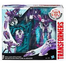 Transformers Robots in Disguise - Decepticon Fracture & Airazor - NEUF