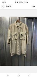 Columbia Sportswear Company Brown Short Sleeve Twin Pocket Shirt Size X Large