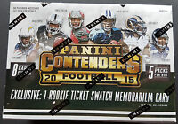 NFL Panini Contenders 2015 Football Blaster 8-Pack Box Sealed/OVP 1 Hit!!