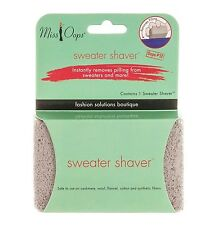 MISS OOPS Sweater Shaver NEW Fuzz Lint Pilling Remover 100% Pumice Free Shipping