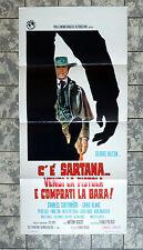 LOCANDINA * C´E´ SARTANA... - ITAL. FILMPOSTER #839 GEORGE HILTON 1. Ediz. ´70