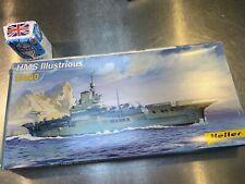 Heller 1/400 HMS Illustrious HMS Victorious 81089
