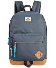 $122 Steve Madden MENS BLUE TRAVEL BACKPACK WORK BAG SCHOOL SHOULDER BOOKBAG