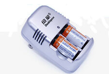 USA! 2x CR2 15270 900mAh Li-ion Rechargeable Batteries + Travelling Charger