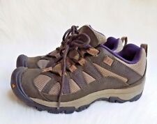 Women's Keen Palisades Lace Up Olive/ Grey Hiking/Trail Shoes Size 6  52016-BOSG