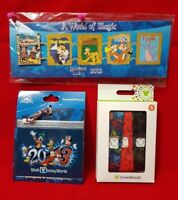 Combo LOT Cover Bands & Annual Passholder A World of Magic Disney Pin & Lanyard