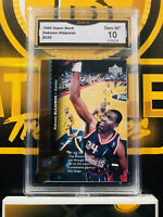 1996 Upper Deck Hakeem Olajuwon #225 - 10 GEM MINT GMA Graded NBA