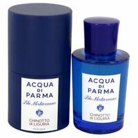 Blu Mediterraneo Chinotto Di Liguria by Acqua Di Parma 2.5 oz EDT Spray  Perfume