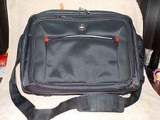 """Swiss Gear Black Shoulder Strap LAPTOP Bag/Case 16"""" x 12"""" New NWOT"""
