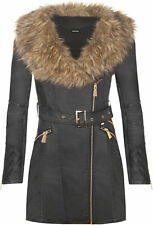 Plus Size Faux Leather Biker Jackets for Women