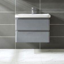 Vitrinas y armarios de color principal gris para el baño