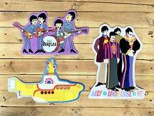 The Beatles - Tin Metal Wall Sign Collection (set of three)